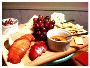 Cheese plate at the Woods Hole Inn worthy of Rembrant.