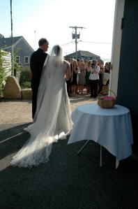 A glorious May day for wedding in Woods Hole.