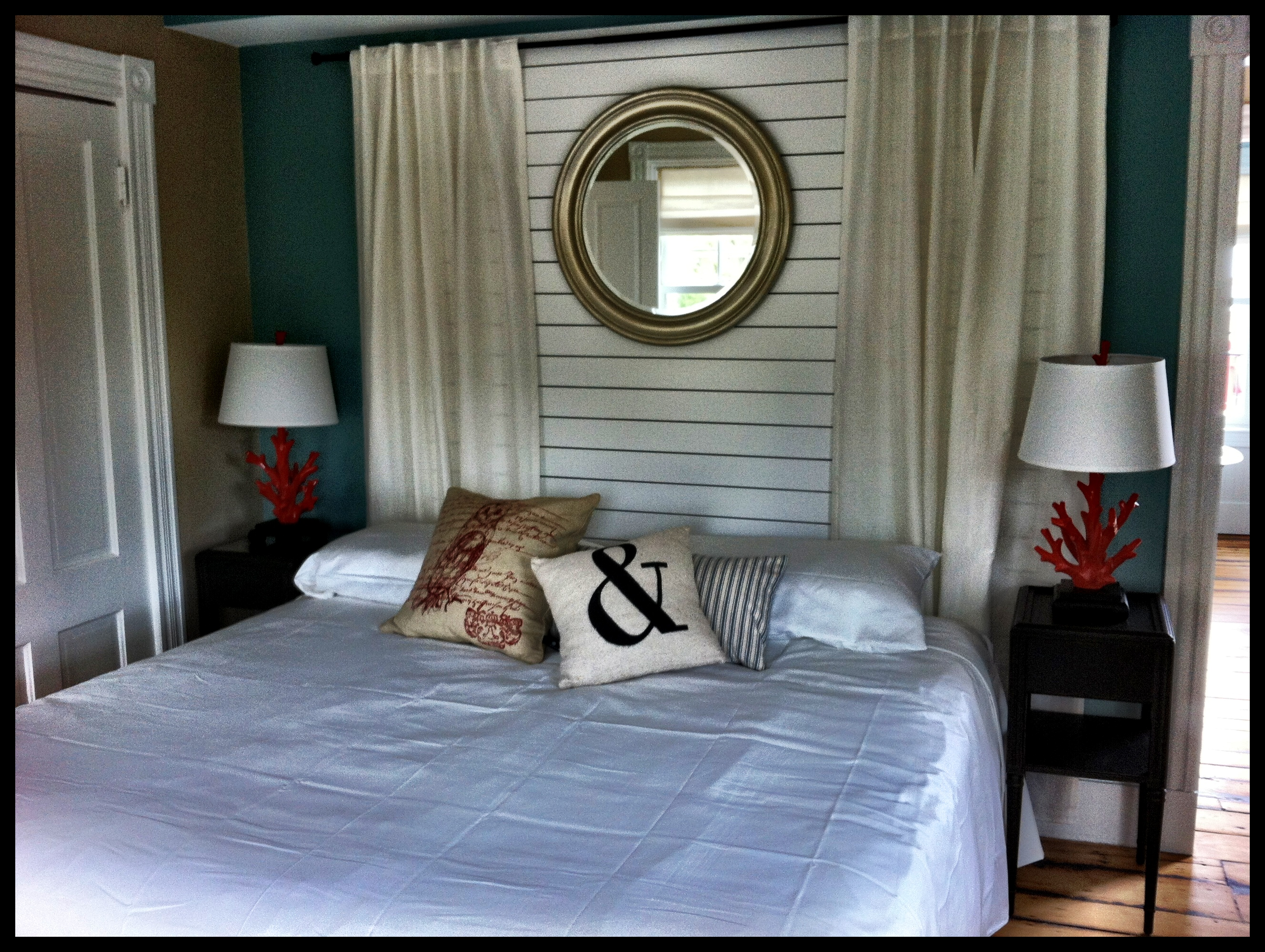 Modern decor and amenities at the Woods Hole Inn.