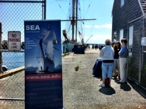 Corwith Cramer open for tours in Woods Hole.