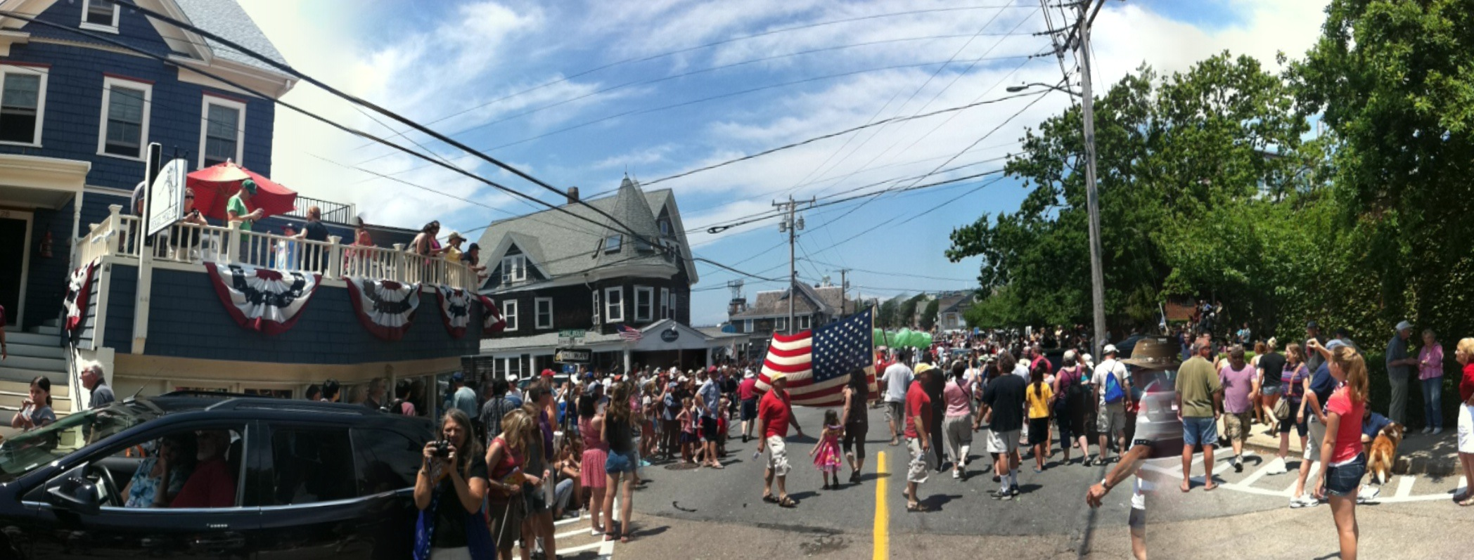 Greatest parade on Cape Cod.