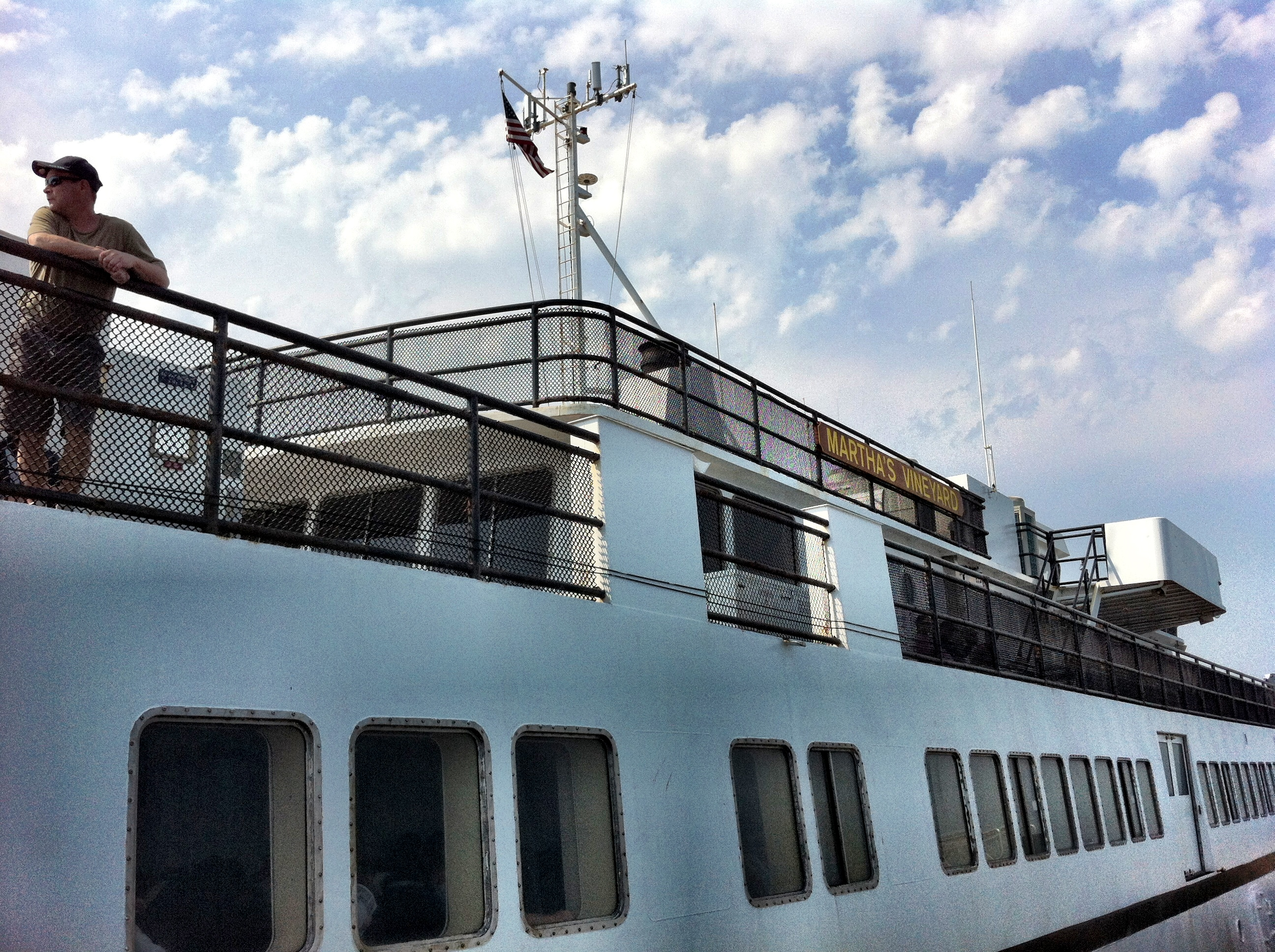Ferries leave about hourly all summer long between Martha's Vineyard and Woods Hole.