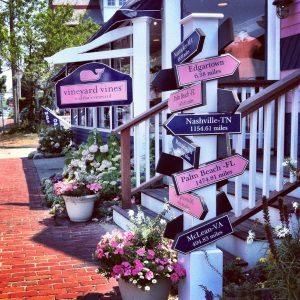 Oak Bluffs now has a Vineyard Vines.